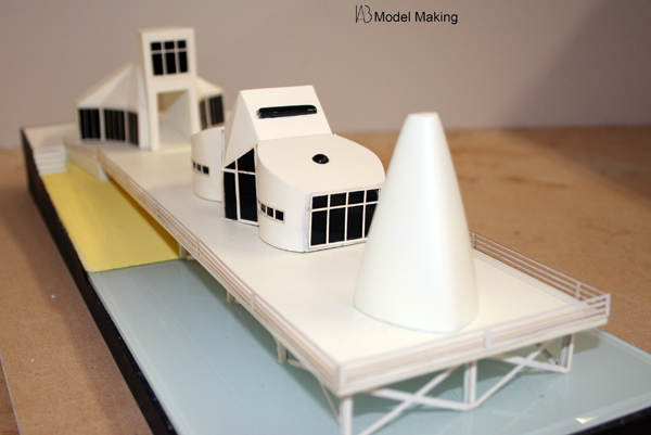 Seaside Pier Architectural Project Iab Model Making